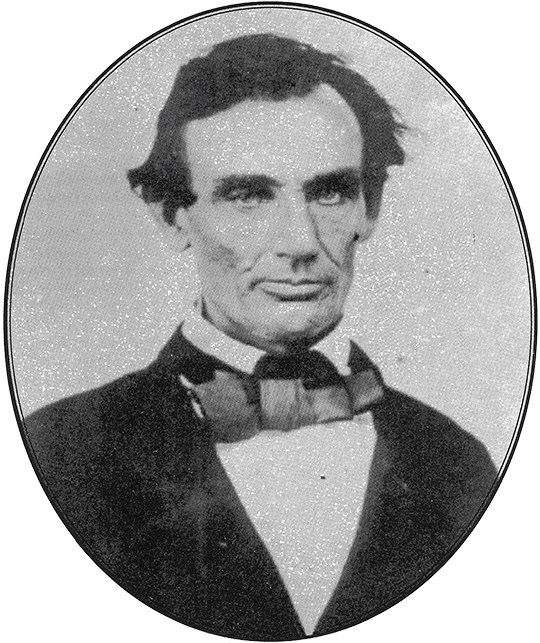 Abraham Lincoln in 1858