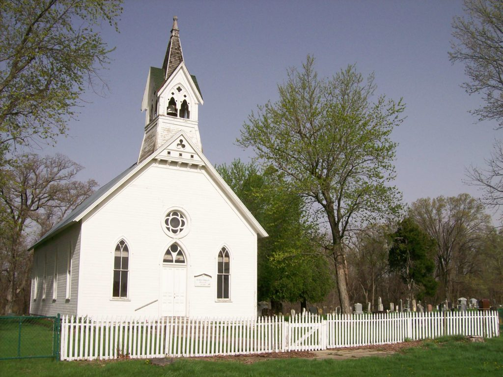 Bethel Church and Cemetery Exterior