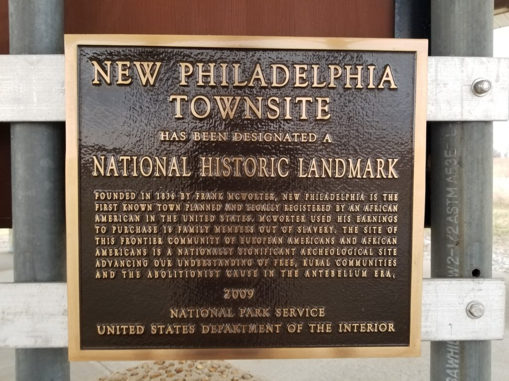 New Philadelphia Townsite National Historic Landmark